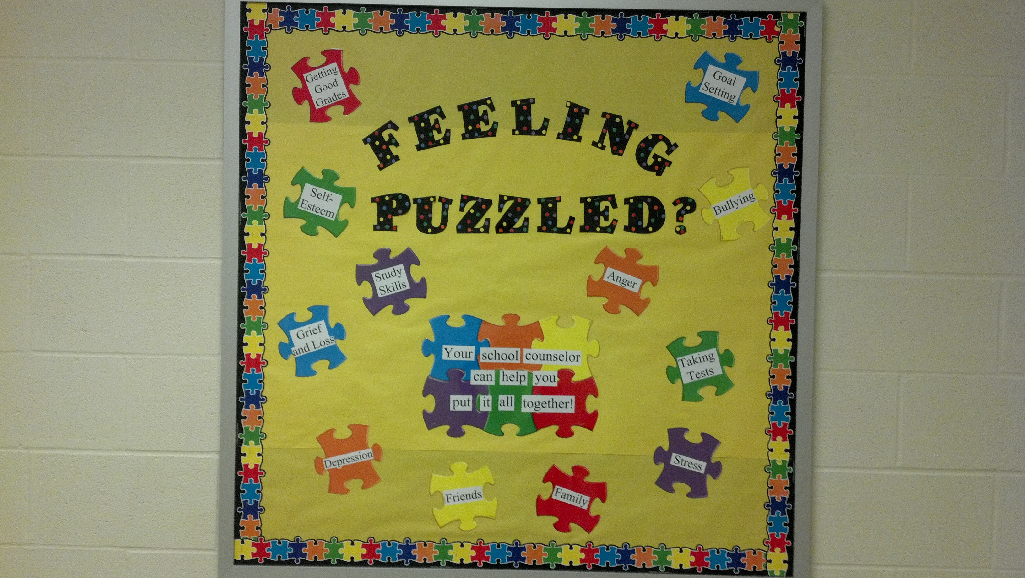 Bulletin Boards | Savvy School Counselor