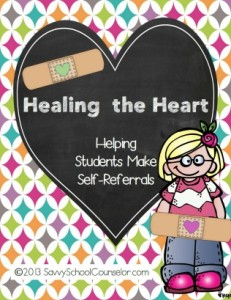Healing the Heart- Self-Referral Activity