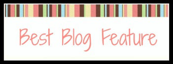 Best Blog Feature