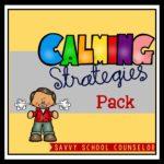 Calming Strategies Pack