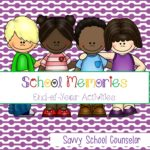 School Memories Pack - Savvy School Counselor