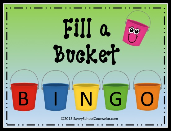 New!  Fill A Bucket BINGO- $8.50 at TpT Store