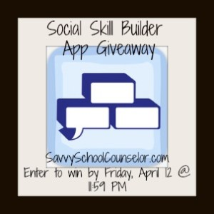 Savvy School Counselor App Giveaway!  Enter to win today!  3 will win!!