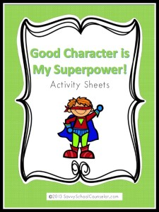 Superpower Activity Sheets