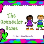Meet the Counselor Game- $3.00
