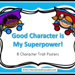 Super Hero Character Posters- $3.00 on TpT