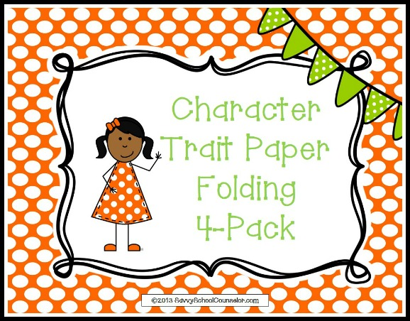 Character Trait Paper Folding