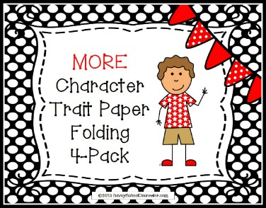 More Character Trait Paper Folding