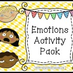 Emotions Activity Pack- $5.00