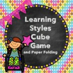 Learning Styles Cube Game