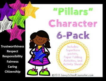 """Pillars"" Character 6-Pack- $6.00"