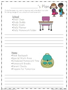 Annie's Plan Worksheet