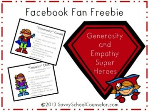 Super Power Character Poster Facebook Fan Freebie