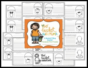 FREEBIE- Fill My Bucket Booklet