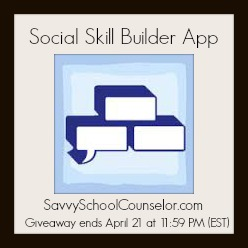 Social Skill Builder App Giveaway on SavvySchoolCounselor.com