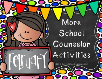 More School Counseling Activities for February - $10.00