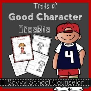 Traits of Good Character Freebie - Citizenship