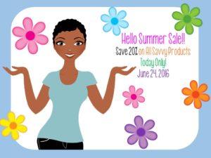 June 2016 Sale