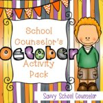 School Counselor's October Activity Pack