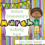 School Counselor's March Activity Pack